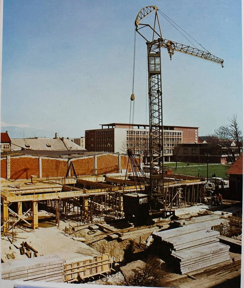 Výstavba neografie, 60te roky