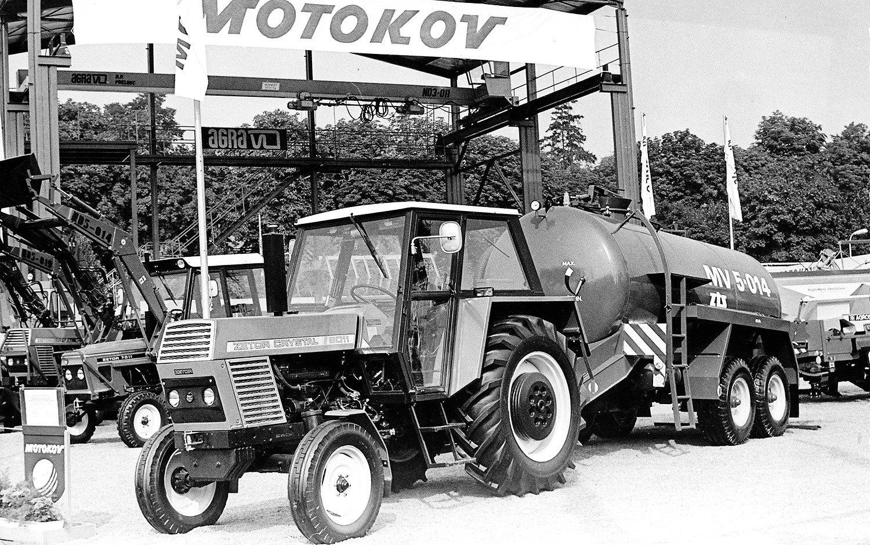 Zetor, 80te roky