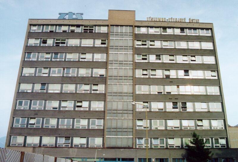 Zťs Martin, budova vývoj, 90te roky