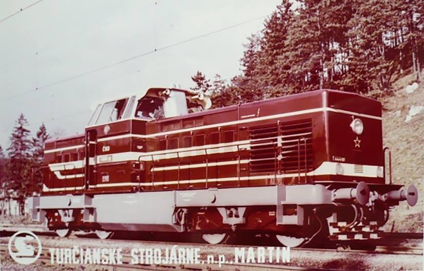 Vlak zo zťs, 80te roky