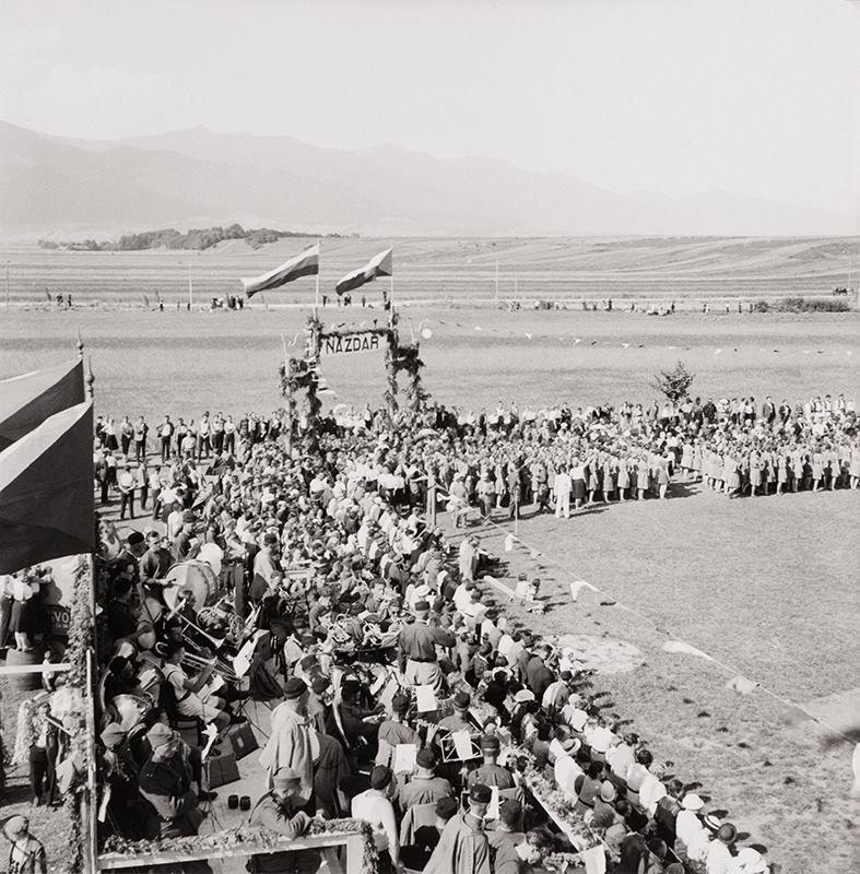 Župný slet 1936